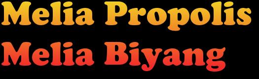 Melia Propolis  | Melia Biyang